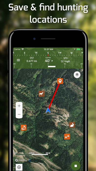Hunting Points: GPS Hunt Maps Screenshot