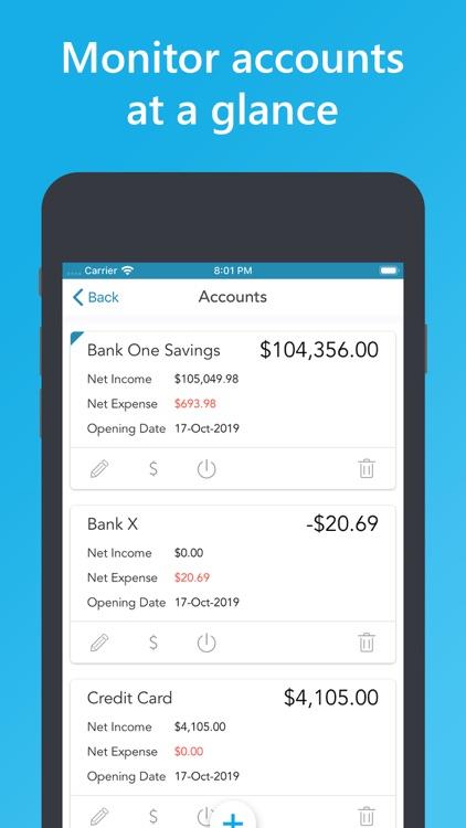 Easy Spending Budget. screenshot-5