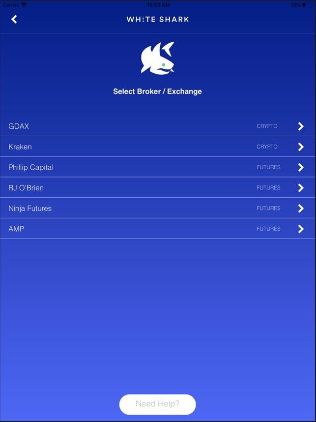 White Shark Trading on the App Store