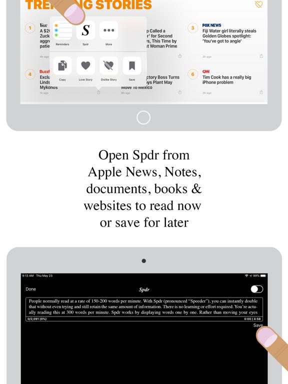 Spdr - Speed Reading | App Price Drops