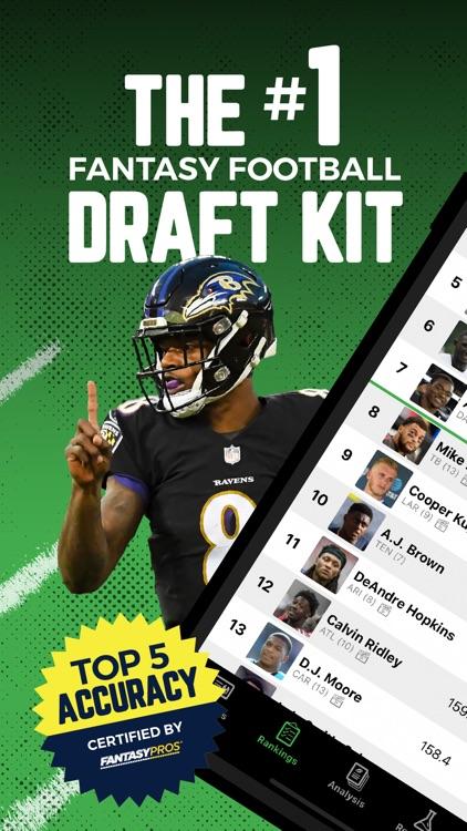 Fantasy Football Draft Kit UDK screenshot-0