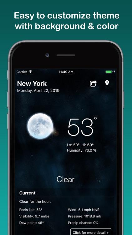 Weather: Weather Widget screenshot-6
