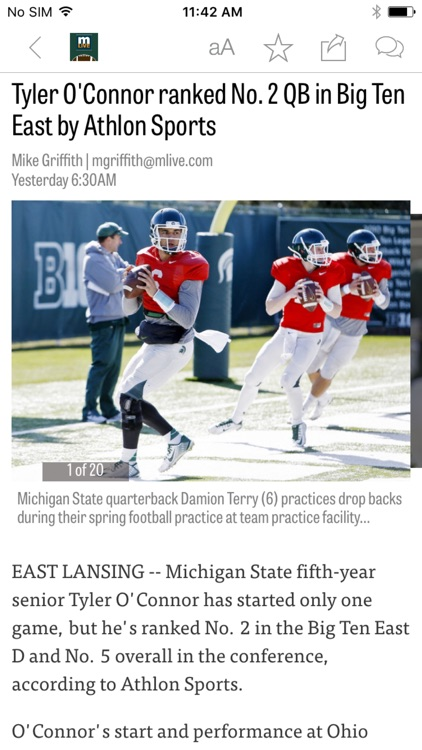 MLive: Spartans Football News
