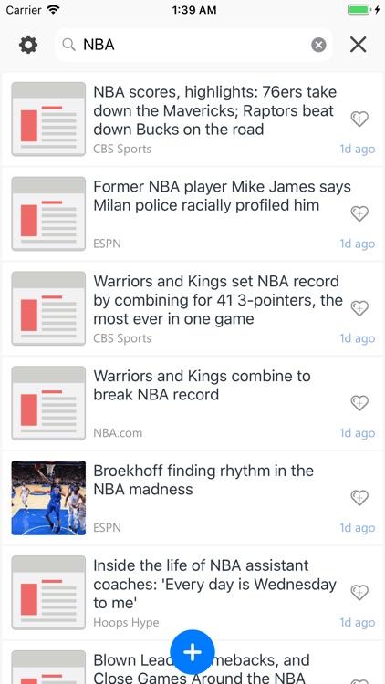 Unread: Breaking & Smart News