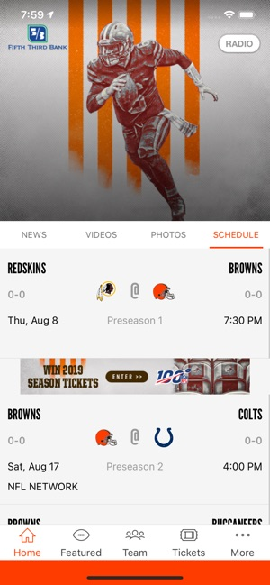 Cleveland Browns on the App Store