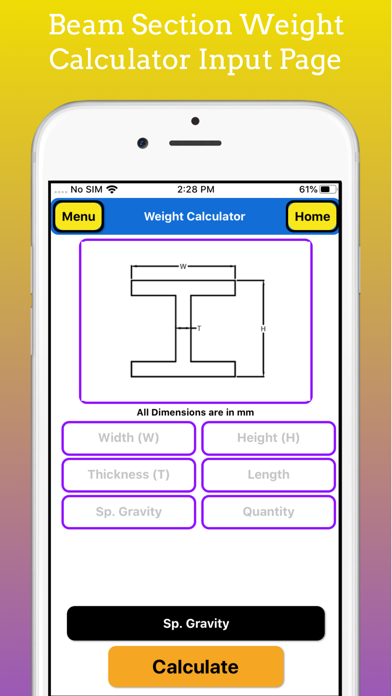 Fabrication Weight Calc Pro screenshot 10