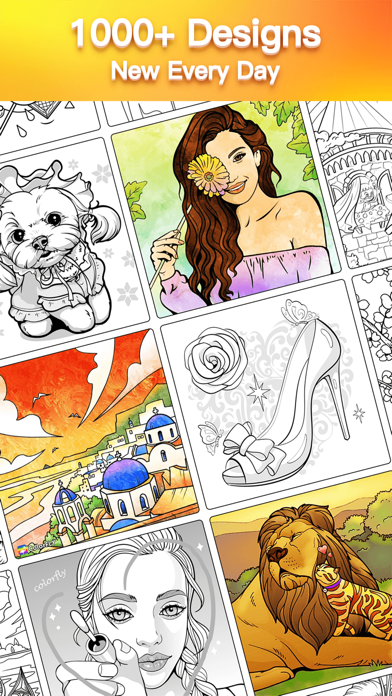 Colorfly : Coloring Bookのおすすめ画像2