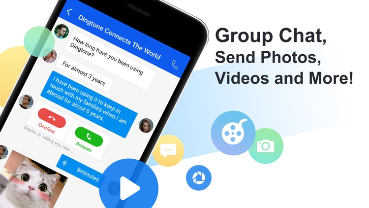 Dingtone - WiFi Calling & Text screenshot-3