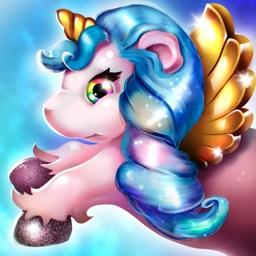 Cute Unicorn: running games