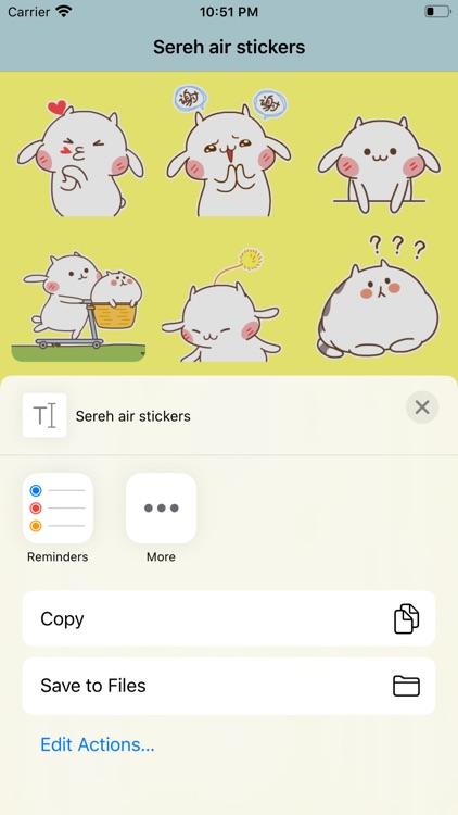 Sereh air stickers screenshot-3