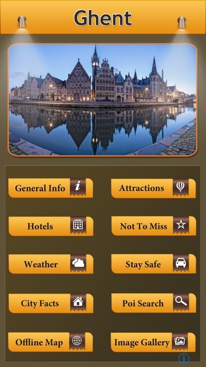 Ghent Offline Map City Guide