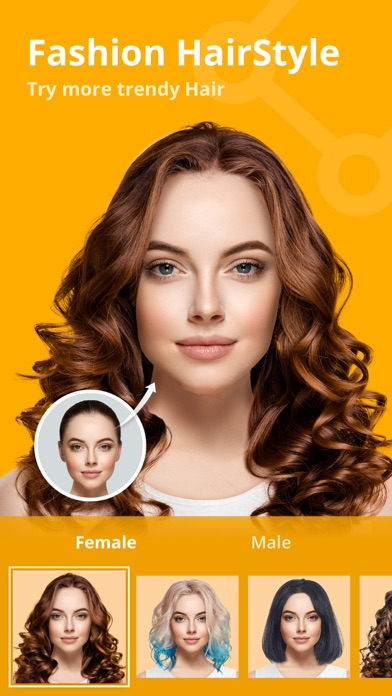 PicsMagic-Comic & Hairstyle Screenshot