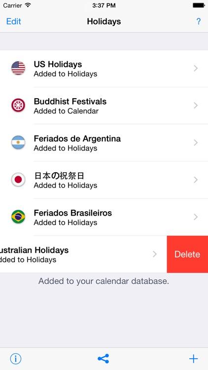 Holidays 2020 screenshot-4