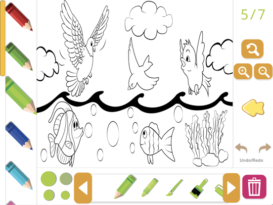 Biblia Coloring Story Book screenshot 4