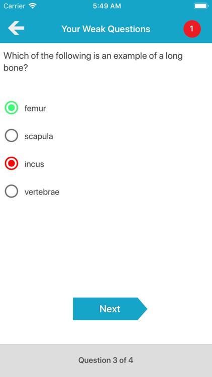Skeletal System Quizzes screenshot-7