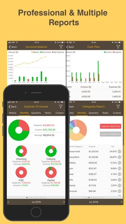 Money Monitor: Expense Tracker screenshot-6