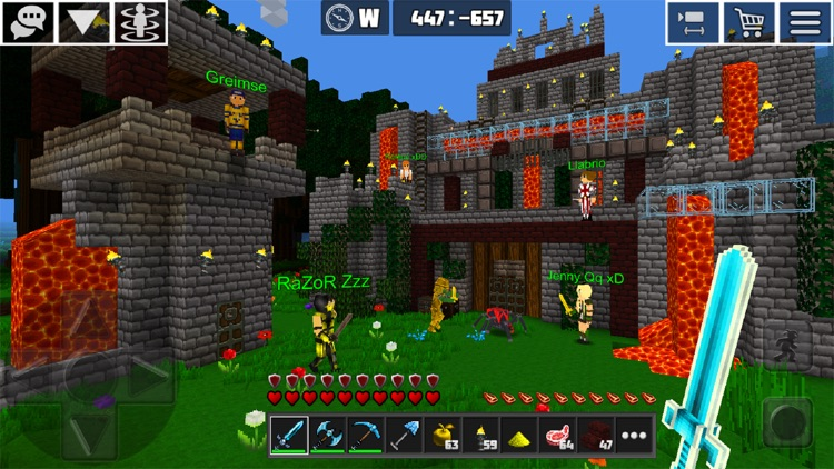 PlanetCraft: Block Craft Games screenshot-5