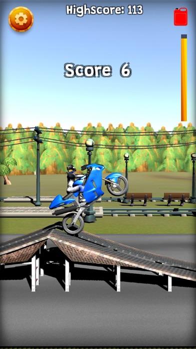 Screenshot #1 pour Wheelie Or Die - Wheelie game