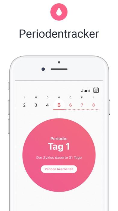 Herunterladen Menstruations Kalender Flo app für Pc