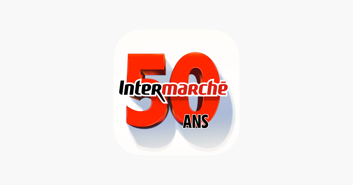 grand jeu 50 ans intermarch dans l app store. Black Bedroom Furniture Sets. Home Design Ideas