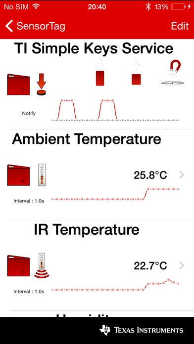 TI SimpleLink™ Starter Screenshot