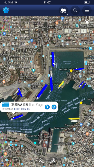 Screenshot for MarineTraffic - Ship Tracking in Mexico App Store