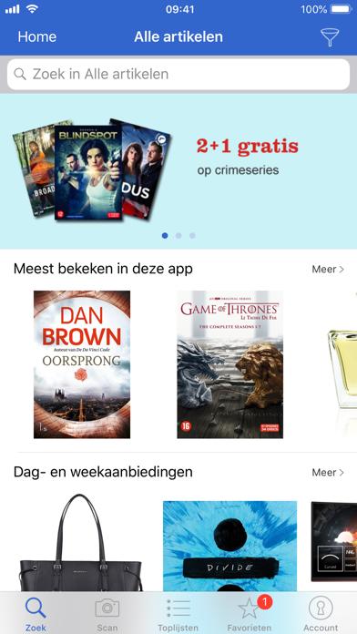 Zoek & Scan-app voor bol.com iPhone app afbeelding 1