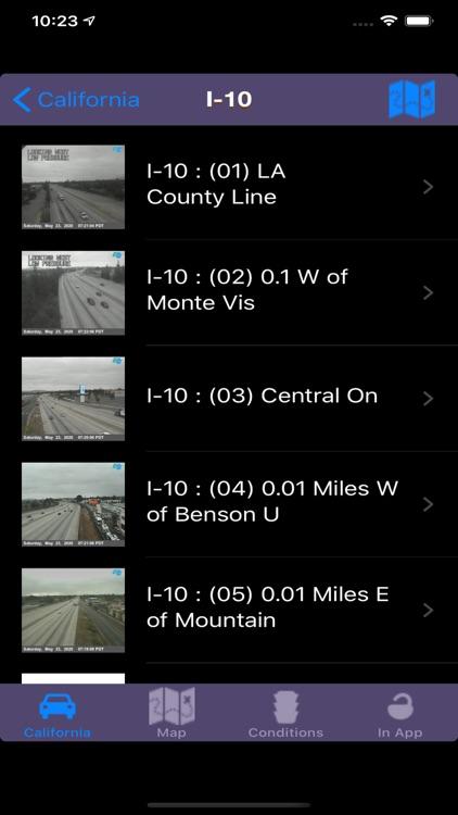 Road Conditions Lite screenshot-3