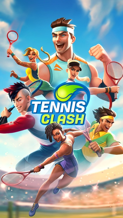 Tennis Clash:Game of Champions screenshot-3