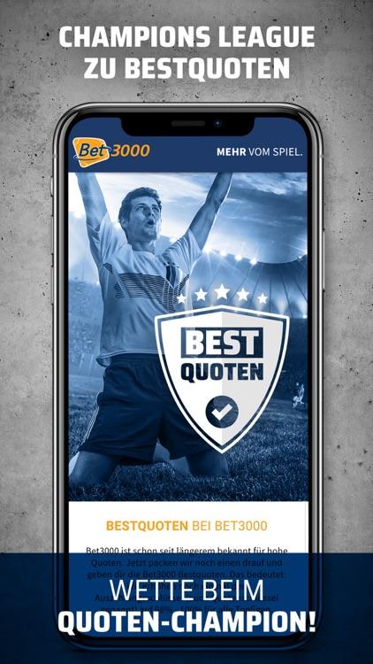 Bet3000 Sportwetten App screenshot-7