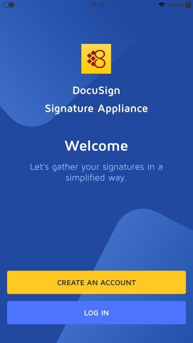 DSA Sign screenshot one
