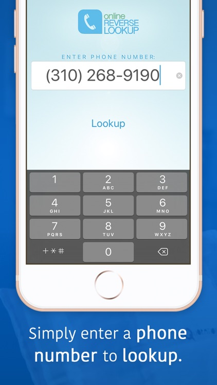 Mobile Number App