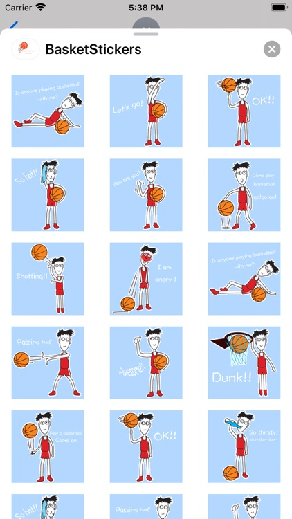 BasketBallFansStickers screenshot-4