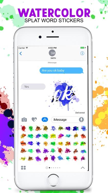 The Watercolor Painting Emojis screenshot-4