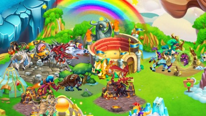 Screenshot from Dragon City Mobile