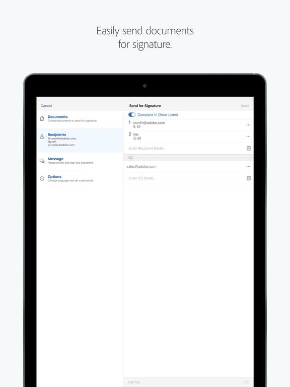 Adobe eSign Manager DC screenshot