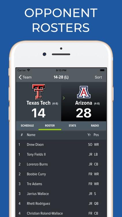 Texas Tech Football Schedules screenshot-8