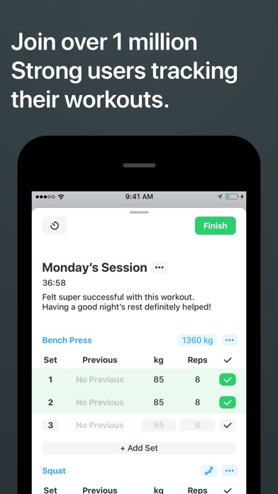 Download Strong Workout Tracker Gym Log for Pc