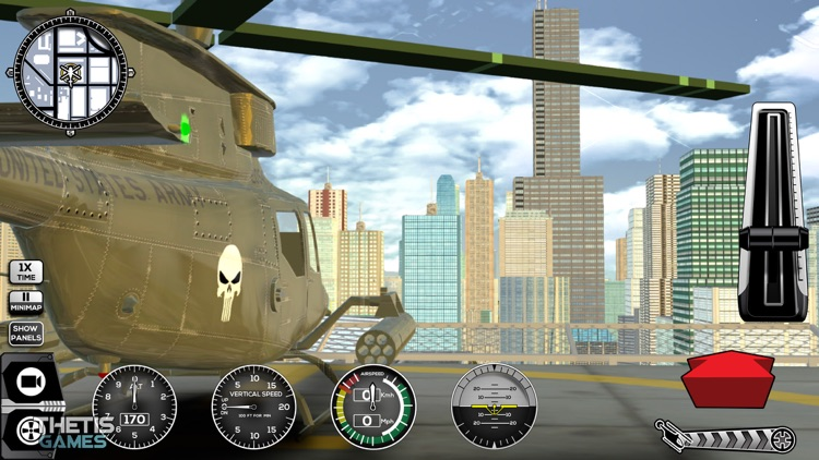 Helicopter Simulator 2017 screenshot-1