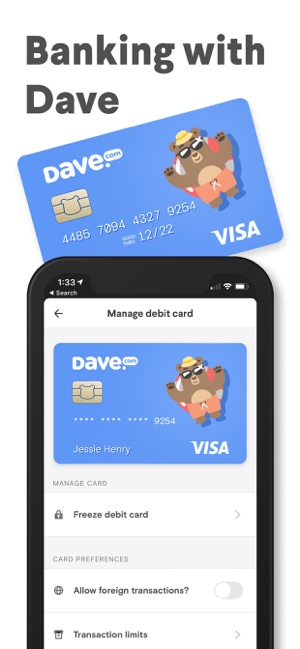 Dave - Banking For Humans on the App Store