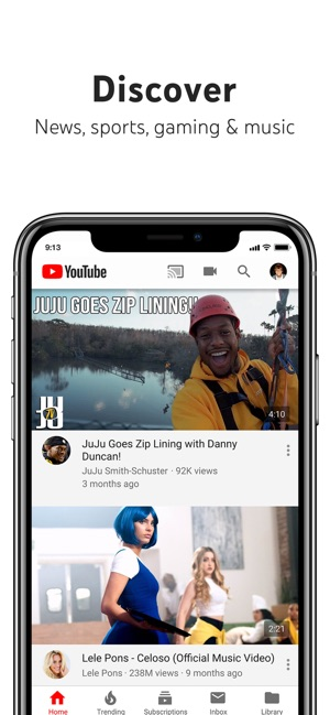 YouTube: Watch, Listen, Stream on the App Store