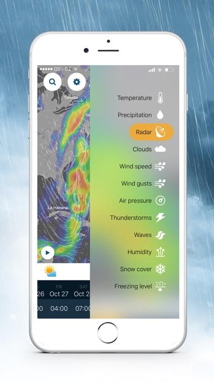 Ventusky: 3D Weather Maps screenshot-3