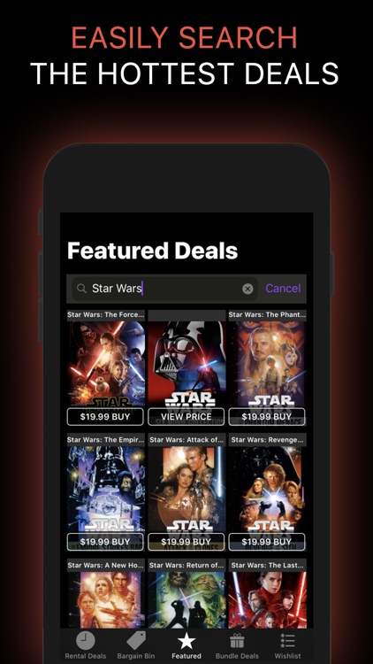 Movie Deals: Cheap Movies App screenshot-7