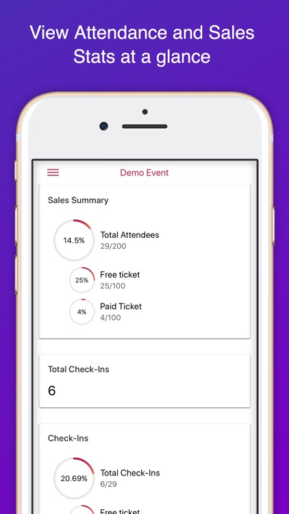Ticket Embassy Check-in App screenshot-2