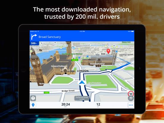 Sygic GPS Navigation & Maps-ipad-0