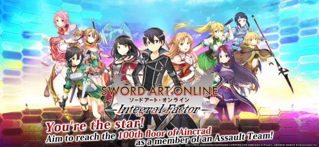 SwordArtOnline: IntegralFactor on the App Store