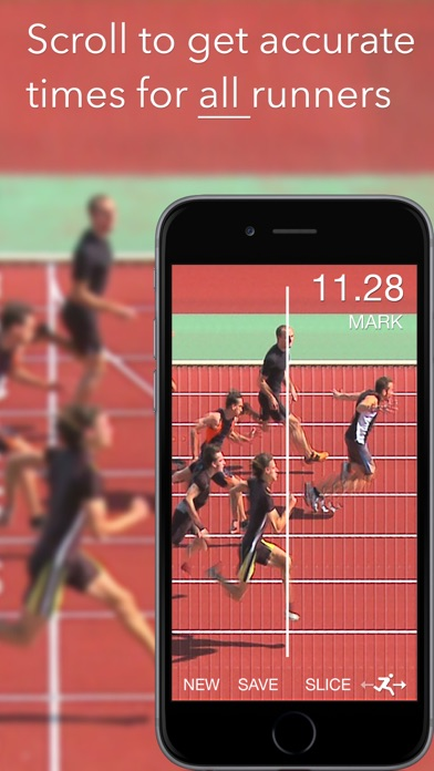 Screenshot for SprintTimer - Photo Finish in Korea App Store