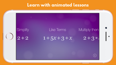 Algebra Touch review screenshots