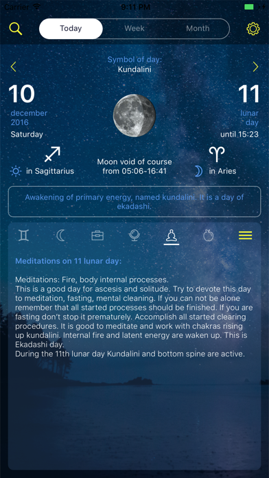 Screenshot for Lunar calendar Dara in Ukraine App Store