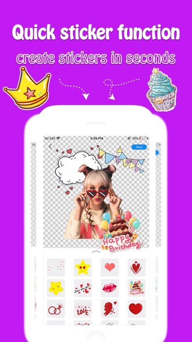 Stickers More - Maker&Creatorのおすすめ画像5